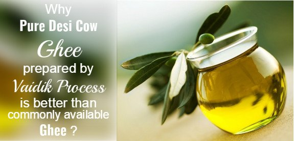 Why Only Desi cow ghee