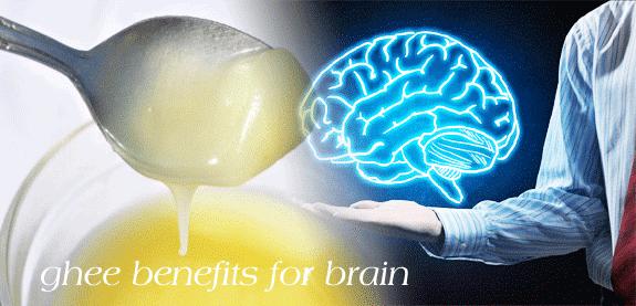 Ghee benefits for brain