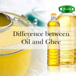 Difference between Oil and Ghee
