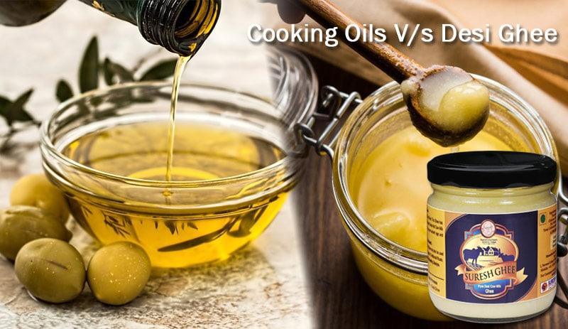 Cooking oil vs Ghee