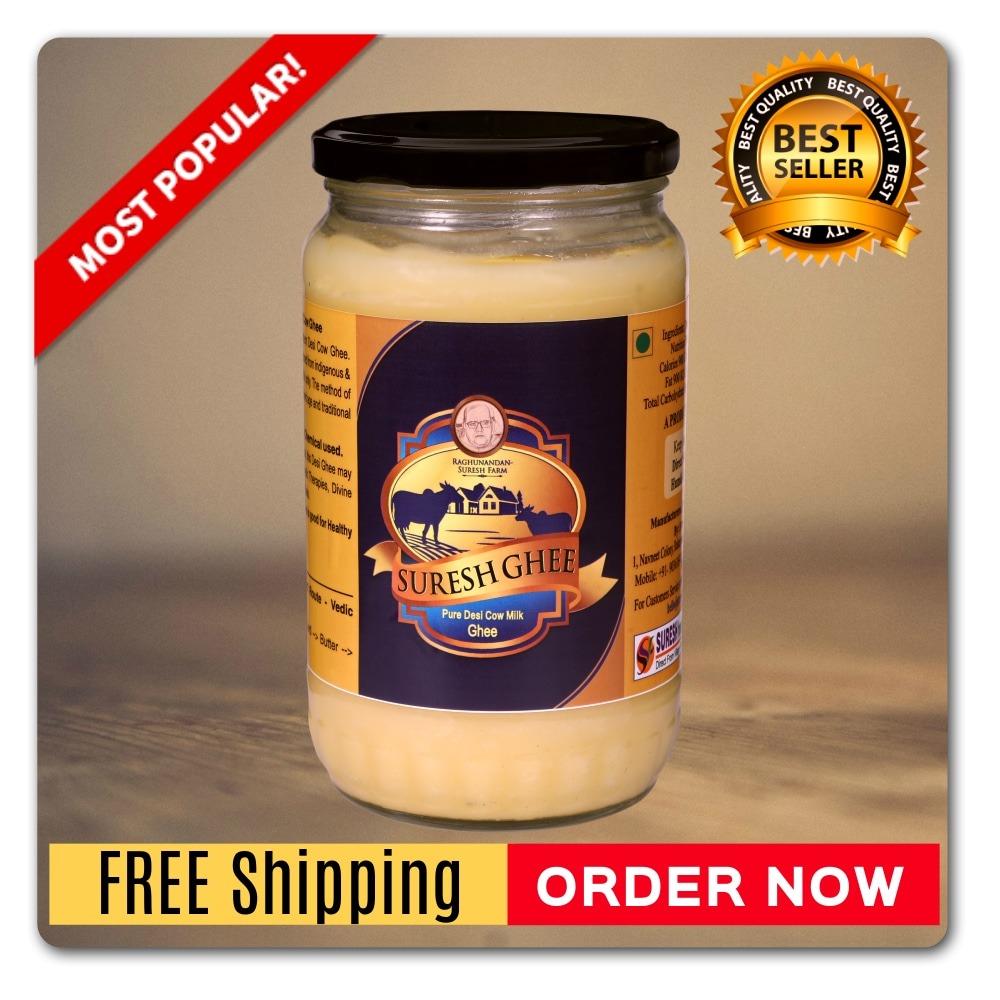 Suresh Desi Ghee Most Popular 1kg : Sureshfoods.com
