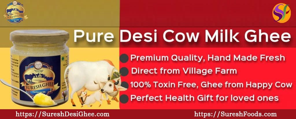 Cow Ghee - Health Benefits, Side Effects, Uses | SureshFoods com